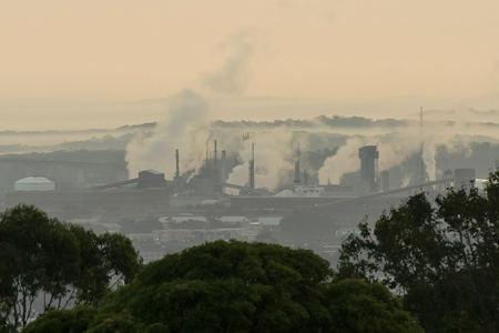 Image of industry and smoke