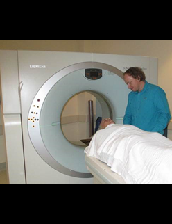 Image of a CT scan
