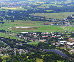 aerial view of kembla grange