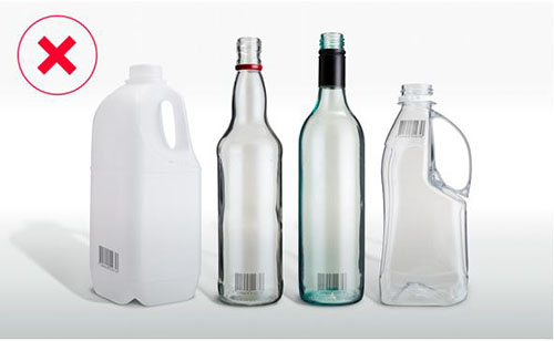 ineligible drink containers