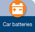 Icon for car batteries