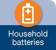 Icon for household batteries