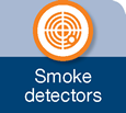 Icon for smoke detectors