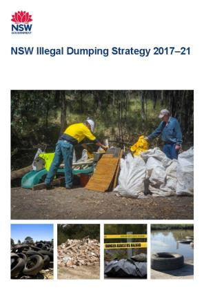 Cover of EPA Illegal Dumping Strategy 2017-21